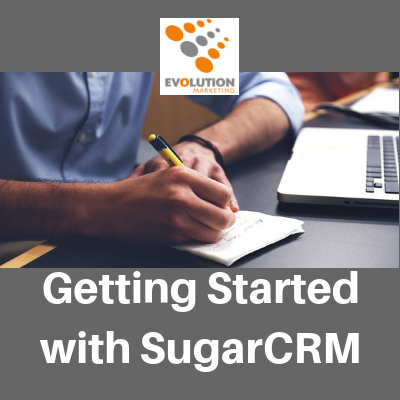 Getting started with SugarCRM